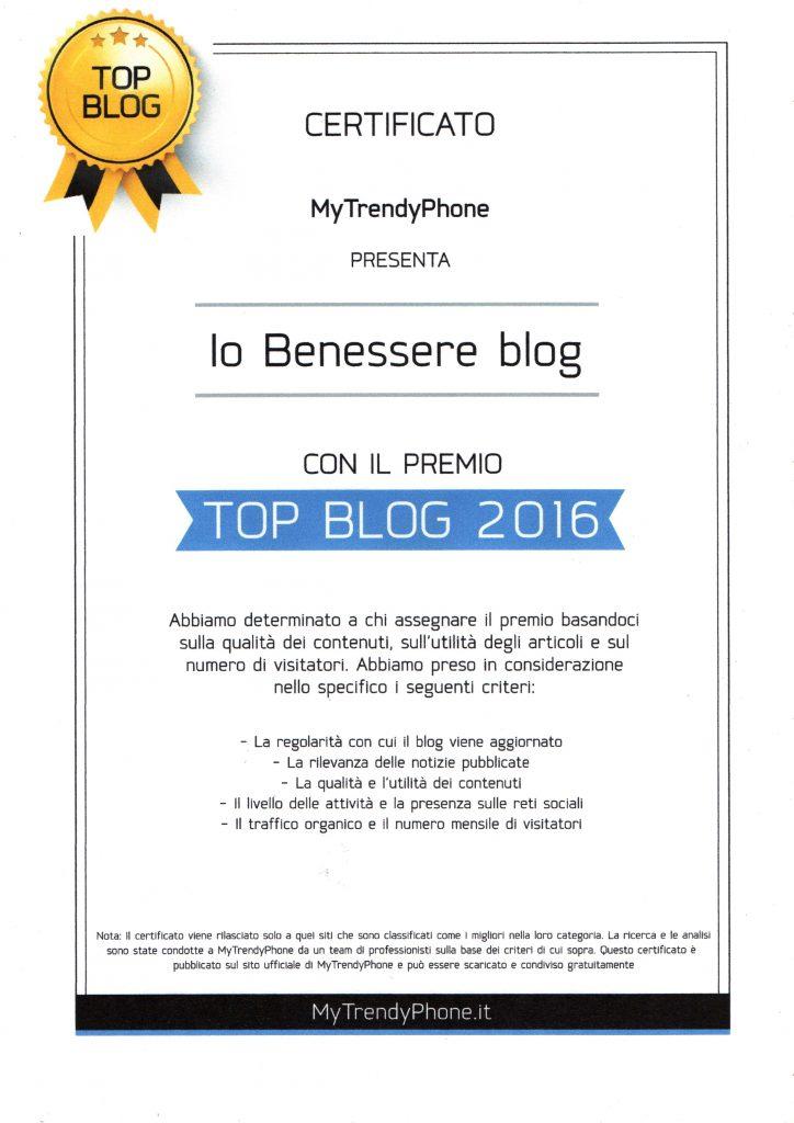 top blog 2016 iobenessereblog.it