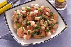 Ricetta gamberetti alla rucola secondo piatto light di for Cucinare dietetico