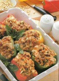 ricetta peperoni ripieni al forno