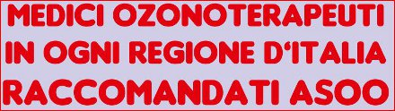 ozonoterapia italia