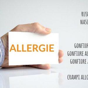 Allergie più comuni: gatto, lattice, intolleranze alimentari
