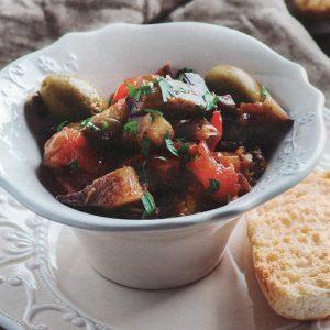 ricetta facile caponata siciliana con melanzane
