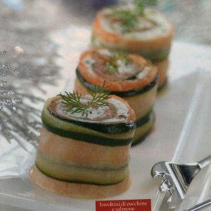 ricetta involtini di zucchine e salmone