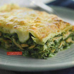 ricetta lasagne al forno con salmone e spinaci