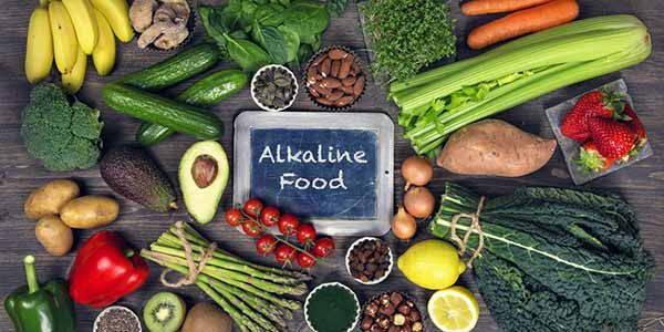 menu dieta alcalina